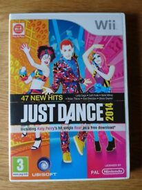 Nintendo Wii Game Just Dance 2014 Including Original Case & Instructions As New Condition