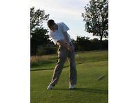 PGA Professional golf lessons