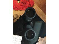 binoculars Jumelles Alpha 7x50