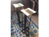 Pair of Speaker/Monitor Stands