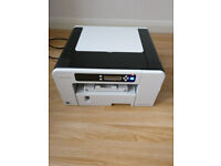 Sublimation printer RICOH SG 2100N with spare inks, cartridges - READ