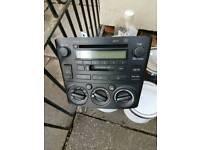 Toyota Avensis cd system 2004