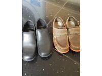 2 x boys clarks shoes