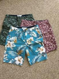"""NEXT mens chino shorts. Like new. Size 30"""" waist. £8 per pair or £20 for the 3."""