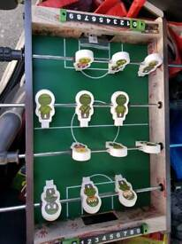 New Zombie Football Table