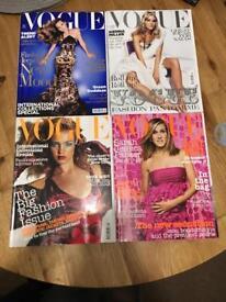 Job Lot of Vogue/Elle Magazines