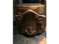 2 Free standing antique bars