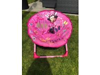 Minnie Mouse Moon Chair