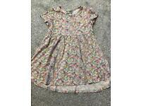 Next girls tunic dress size 4-5 years