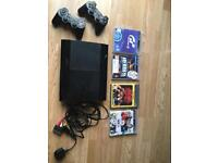 PS3 Playstation with 2 original controllers 320gb