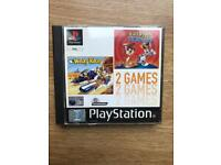 PlayStation 1 game, double game edition, ps1