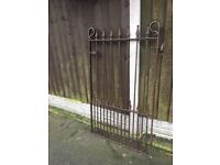 Well Built Garden Gate / Pedestrian / Side Gate - Metal - Steel Iron- DELIVERY/COLLECTION WIGAN