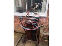Oxy Acetylene gas welding