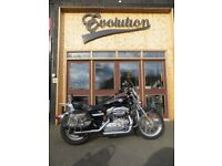 EVOLUTION MOTOR WORKS - Beautifully maintained Harley Davidson Sportster XL883L. Tons of extras