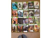 21 Assorted Xbox 360 games for quick sale