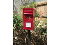 Post box for wedding or party