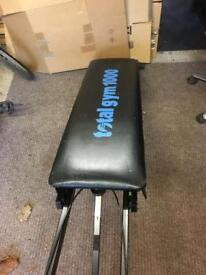 Gym work bench in good condition