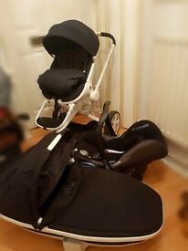 Quinny Moodd Pushchair 3 in 1 pram system