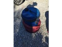 Blue Water barrel