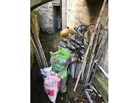 Scrap Metal Plumbing Materials