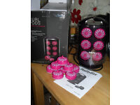 ``BABYLISS`` HEATED ROLLERS.....USED ONCE FOR A WEDDING