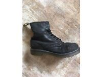 Dr Martens Black Leather Ankle Boots