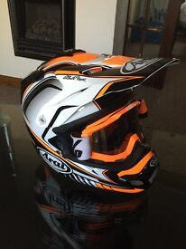 Aria super motocross road helmet