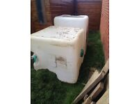 IBC inner. Ideal whelping box for puppies or water butt or garden storage etc