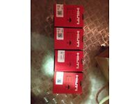 4 boxes Hilti GX120 nails+gas £150