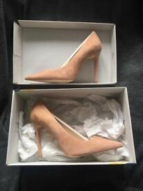 de21685b5d6 Nude Dune court heels size 5 worn once | in Southside, Glasgow | Gumtree