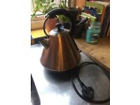 Copper look kettle - great condition only £10