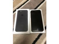 Iphone 7 MATT BLACK 128GB Open to all Networks