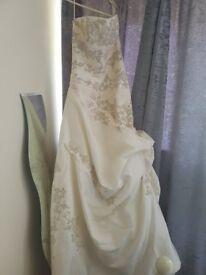 Beautiful assortment of wedding gowns