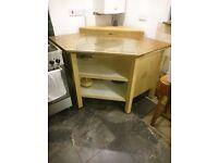 Large kitchen corner unit