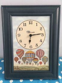 Clock balloon face