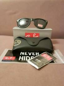 Ray-Ban wayfarer sunglasses matte black