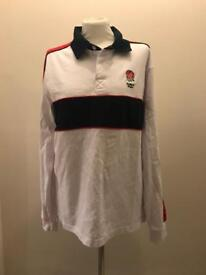 Men's official England rugby polo shirt