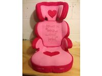 Little Princess Car seat from Mothercare in great condition