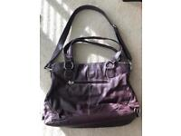 Mia Tui Baby Purple Changing Bag - Great Condition!