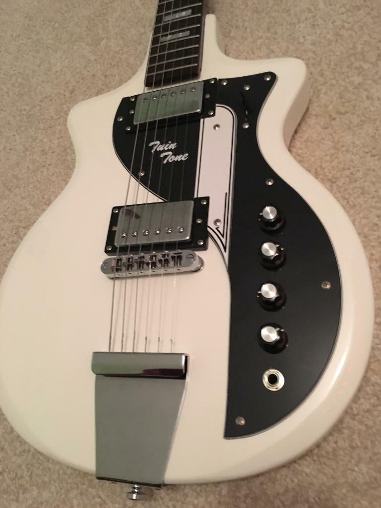 Airline Twin Tone Double Cut Electric Guitar   in Woodbridge ...