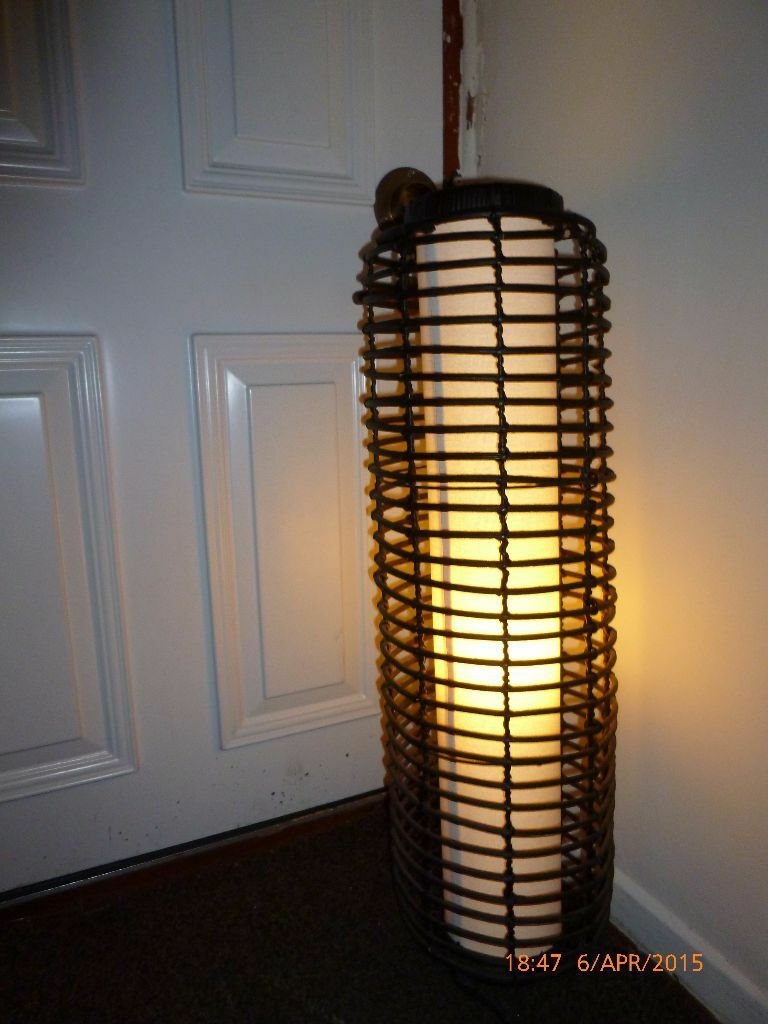 Stylish Bamboo Floor Lamp In Sandwell West Midlands