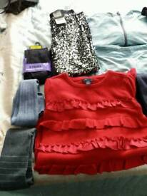 Age 7-8 girls winter clothes b