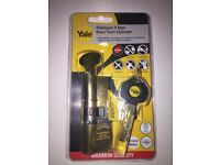 YALE PLATINUM 3-STAR EURO TURN CYLINDER (ANY TWO FOR £50)