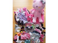 Build A Bear, Hello Kitty, Excellent Value Mega Bundle, Wonderful Variety, Great Condition