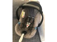 Mother Care Maine Car Seat and Adaptors