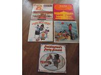 5 Children's Party Vinyl Records