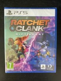 Sealed Ratchet and clank PS5/PlayStation 5