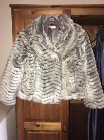 Children's faux fur coat