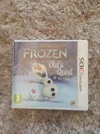 Frozen olafs quest 3ds