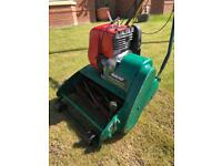 Self propelled petrol roller lawnmower qualcast suffolk punch
